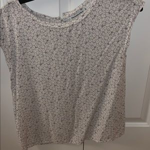 flowered Abercrombie blouse
